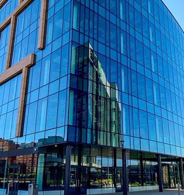 This Image shows the BASF Headquarters building